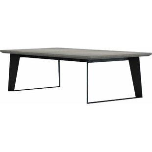 Soleil Stone/Concrete Coffee Table by Orren Ellis