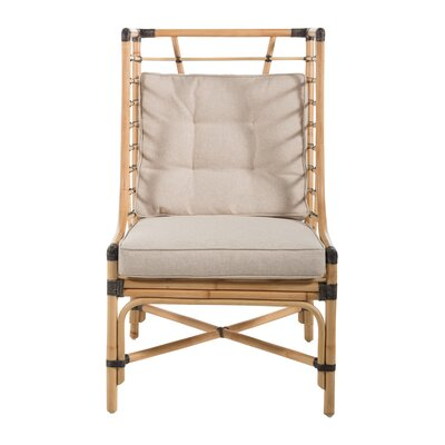 Rattan Amp Wicker Wingback Accent Chairs You Ll Love In 2020