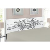 Octopus Upholstered Panel Headboard by East Urban Home