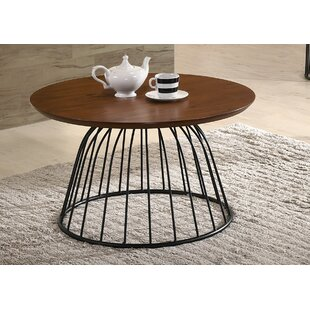 Comparison Renwick Wooden Coffee Table by Williston Forge Reviews (2019) & Buyer's Guide