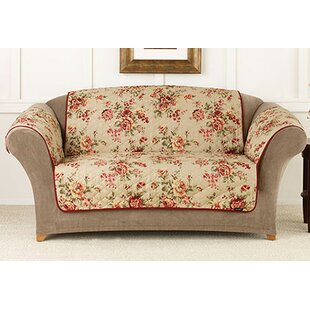 Sure Fit Lexington Floral Pet Sofa Pet Cover