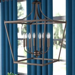 Brickyard 8-Light Foyer Lantern Pendant