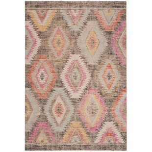 Griffeth Gray Indoor/Outdoor Area Rug by Bungalow Rose