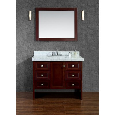 "Bathroom Cabinets Louisville Ky ove decors milan 42"" single bathroom vanity set & reviews 