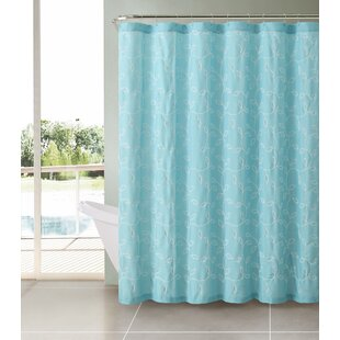 Read Reviews Royalwood Polyester Shower Curtain ByAlcott Hill