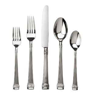 Girasole 45 Piece Flatware Set, Service for 8
