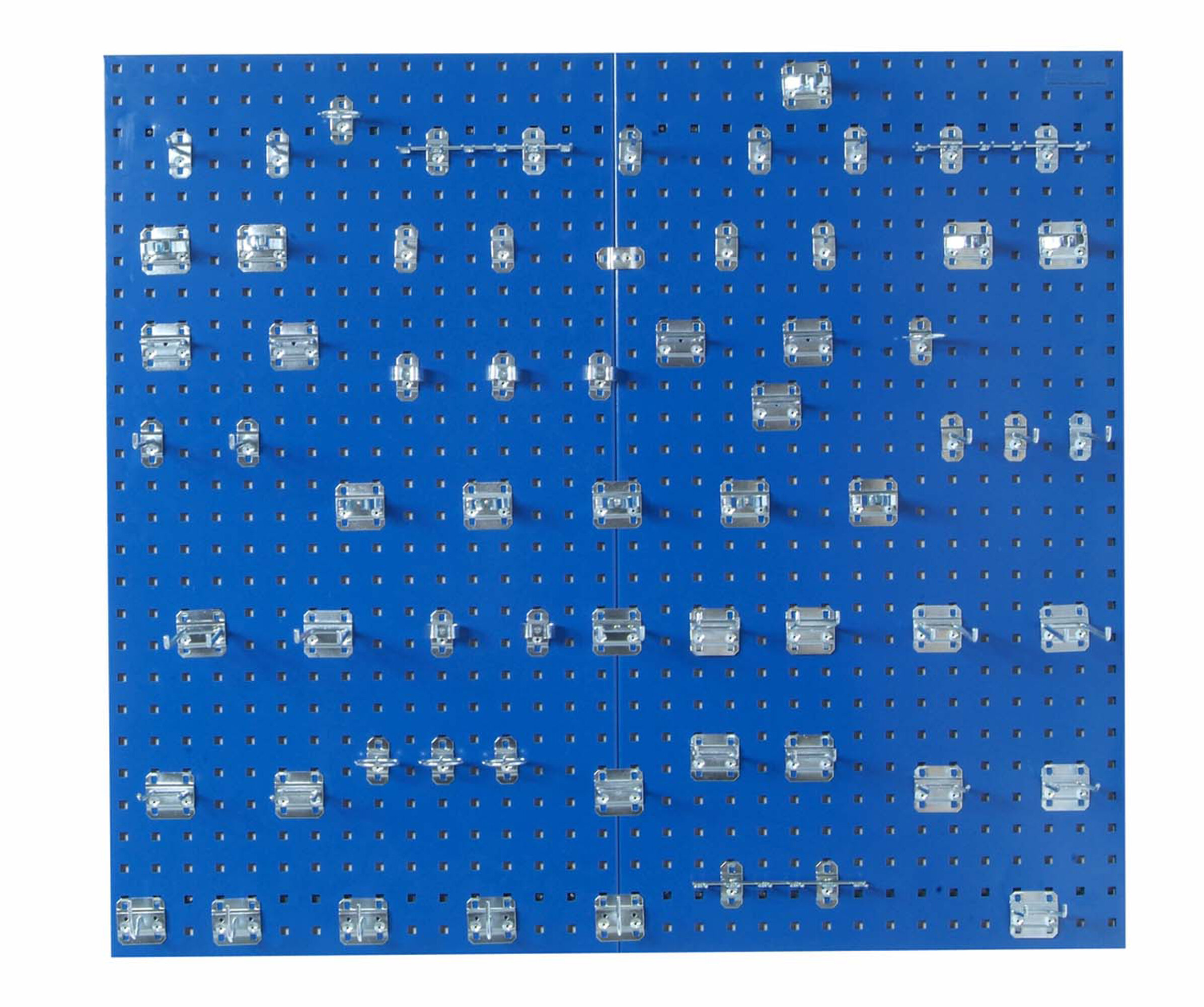 Peg Board Spacer EASY Mount Kit 12pc for pegboard