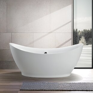 Reviews 67.5 x 31.5 Freestanding Soaking Bathtub ByVanity Art