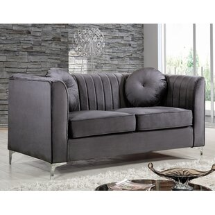 Herbert Chesterfield Loveseat by Willa Arlo Interiors Best