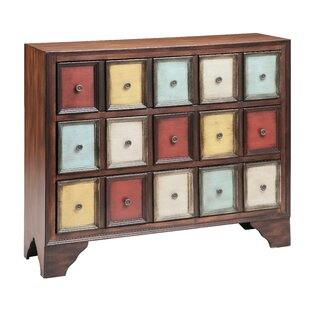 Stonington 3 Drawer Accent Chest by Bungalow Rose