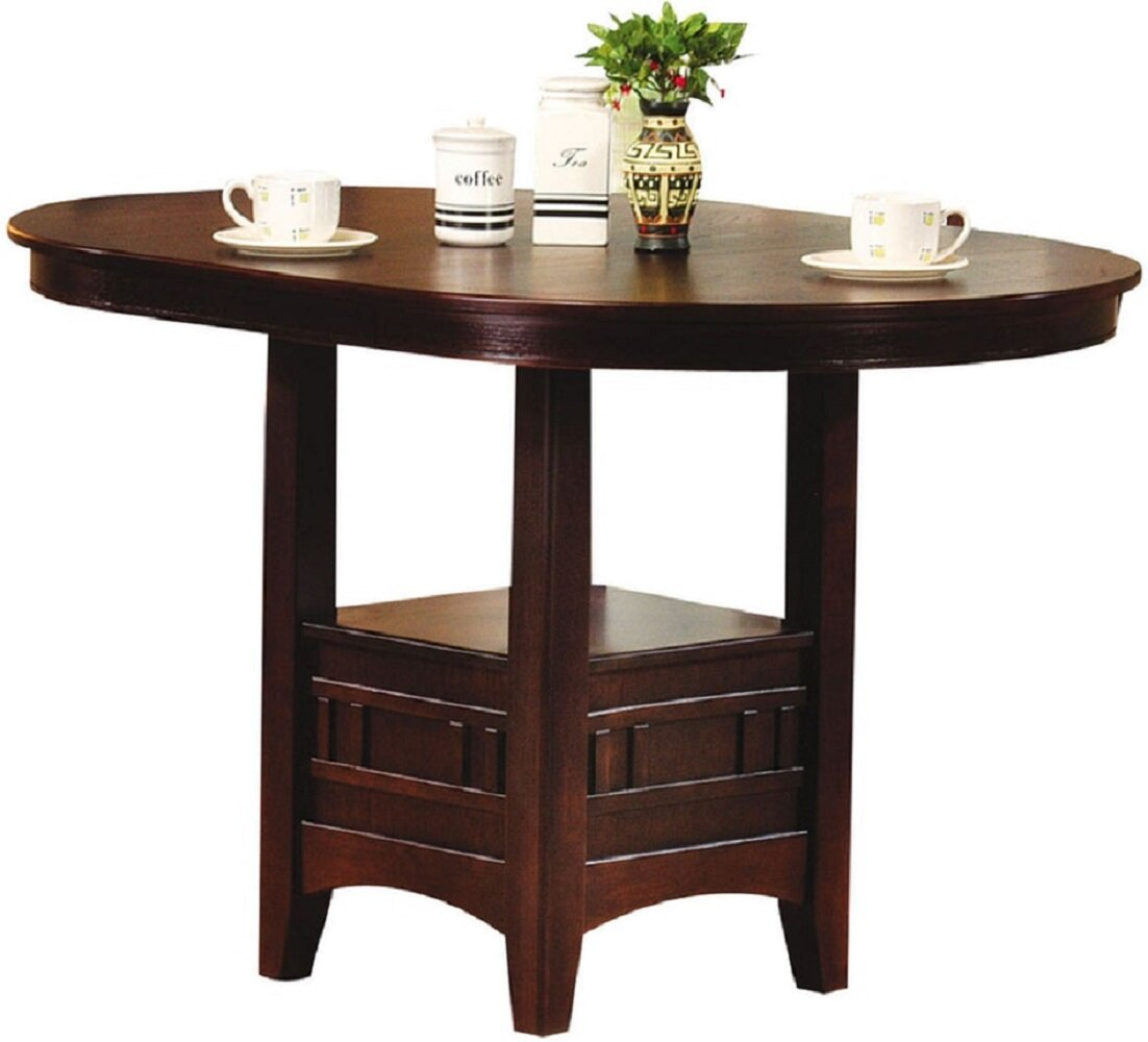 Charlton Home Extendable Solid Wood Dining Table Wayfair