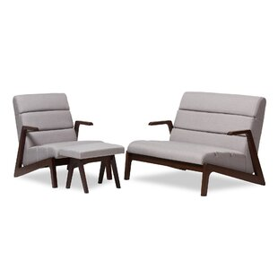 Lazzaro 3 Piece Living Room Set by Wholesale Interiors