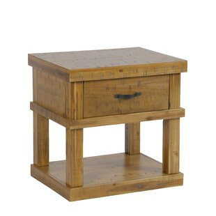 Vogelsang End Table with Storage by Millwood Pines