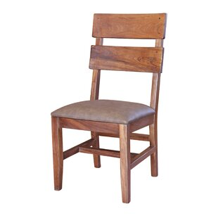 Stockwell Solid Wood Dining Chair (Set of 2) Millwood Pines