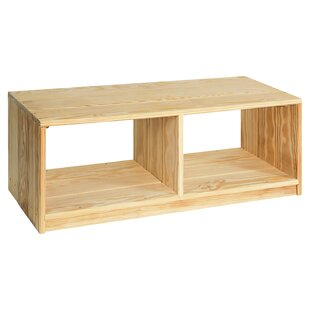 Rebrilliant Brundage Outdoor Solid Wood Storage Bench