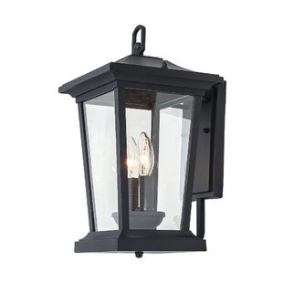 Check Prices Huebner 2-Light Outdoor Wall Lantern By Alcott Hill