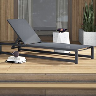 Lindenberg Reclining Chaise Lounge by Mercury Row