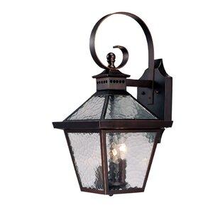 Darby Home Co Britton 3-Light Outdoor Wall Lantern