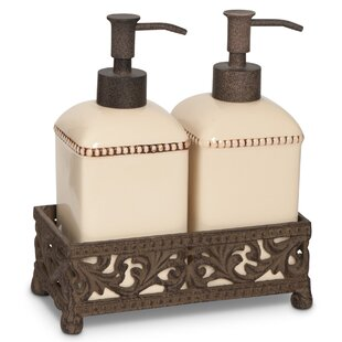 The GG Collection Soap and Lotion Dispenser