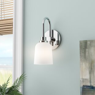 Reviews Randwick 1-Light Armed Sconce By Beachcrest Home