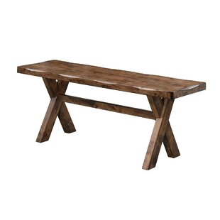 Orland Wood Bench by Loon ..