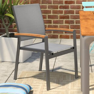 Krystal Contemporary Patio Dining Chair (Set of 4)