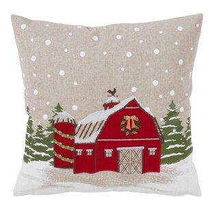 Sheffield Barn Throw Pillow