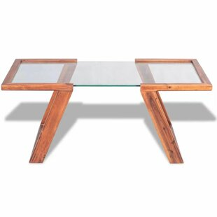 Natalya Solid Acacia Wood Coffee Table By Laurel Foundry