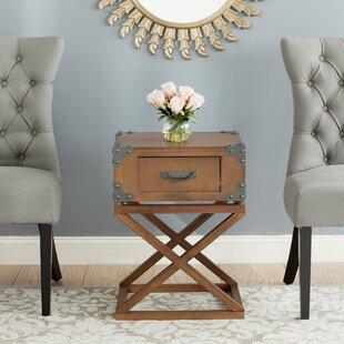 Agoura Hills Dunstan End Table by Trent Austin Design