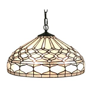 Amora Lighting Tiffany 2-Light Bowl Pendant