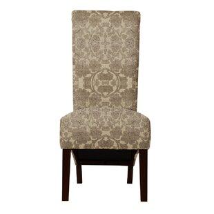 Langley Street Ramon Beige/Brown Parsons Chair (Set of 2)