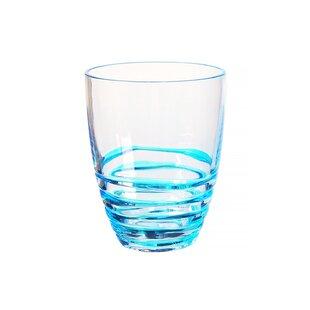 Swirl 14 oz. Plastic Cocktail Glass (Set of 4)