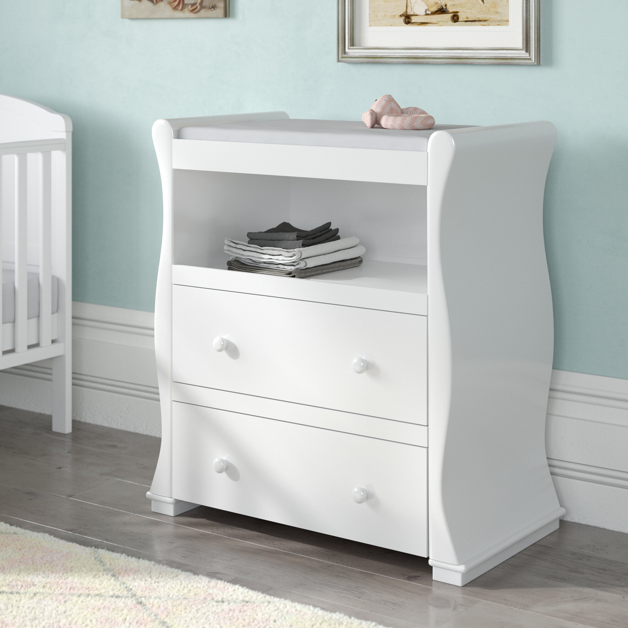 Cool Holly Changing Table Interior Design Ideas Apansoteloinfo
