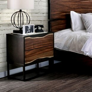 Foundry Select Blaylock 2 Drawer Nightstand