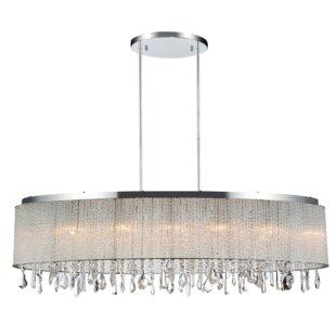 House of Hampton Odysseus 5-Light LED Dru..