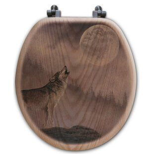 WGI-GALLERY Kindred Spirit Oak Round Toilet Seat