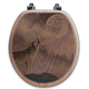 WGI-GALLERY Kindred Spirit Oak Round Toilet Seat