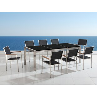 Oyee 8 Seater Dining Set By Sol 72 Outdoor