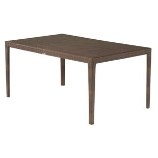 All-Weather Miami Rectangular Dining Table By Woodard