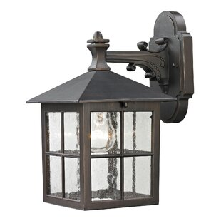 Low priced Tierra 1-Light Outdoor Wall Lantern By Bay Isle Home