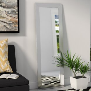 Compare prices Rectangle Full Length Wall Mirror By Wade Logan