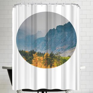 East Urban Home Annie Bailey Glory Of The Valley Shower Curtain