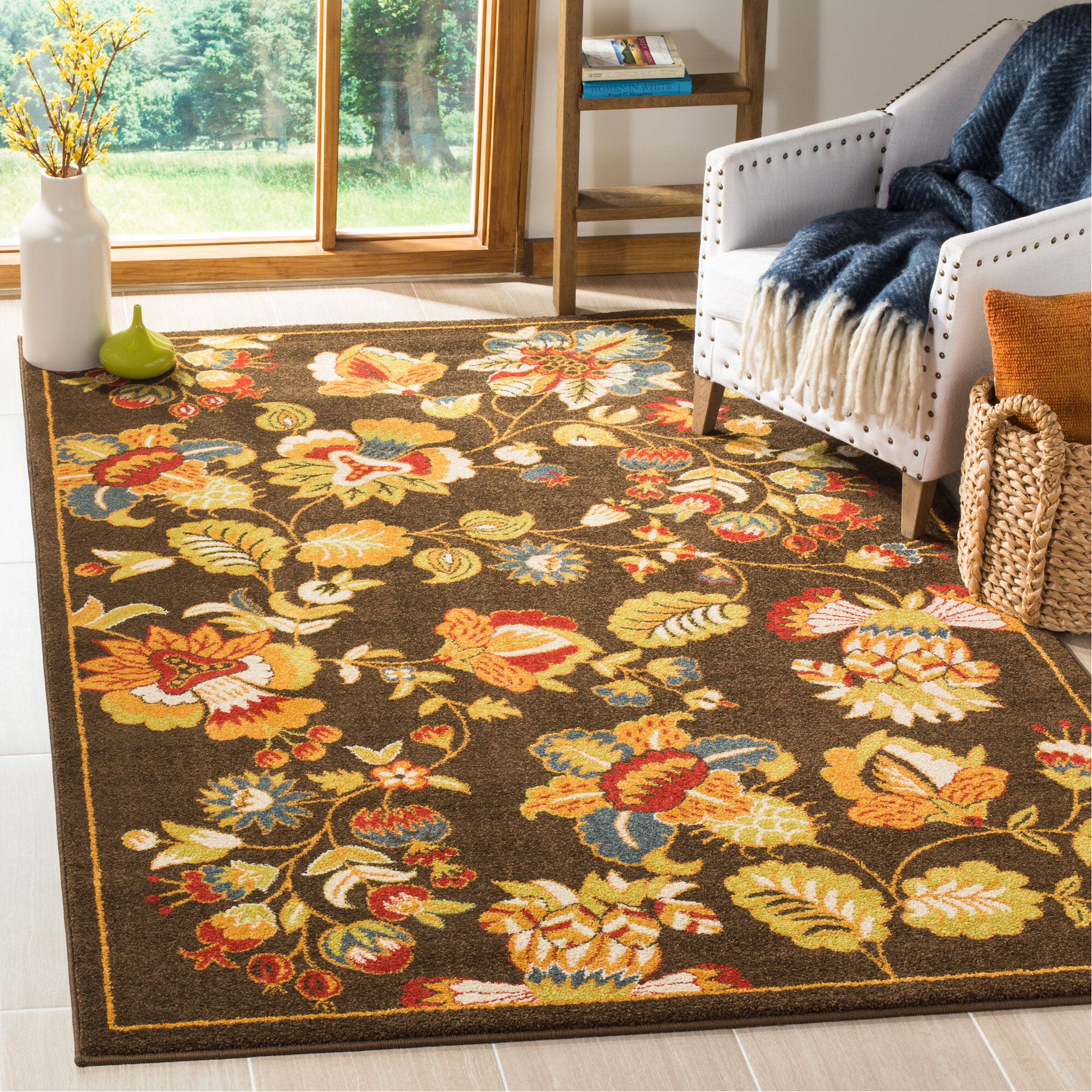 floral sale on lowes rug contemporary rugs outdoor area