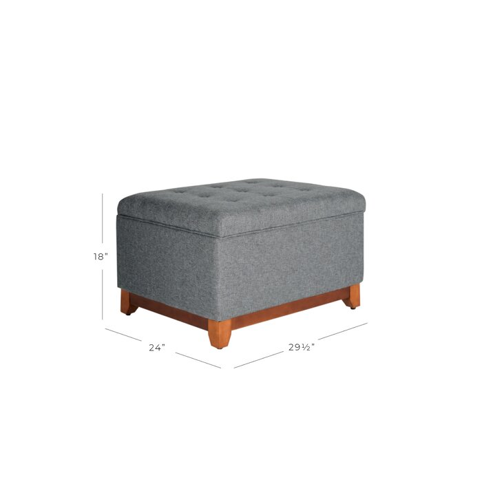 Super Nunnally Tufted Storage Ottoman Unemploymentrelief Wooden Chair Designs For Living Room Unemploymentrelieforg