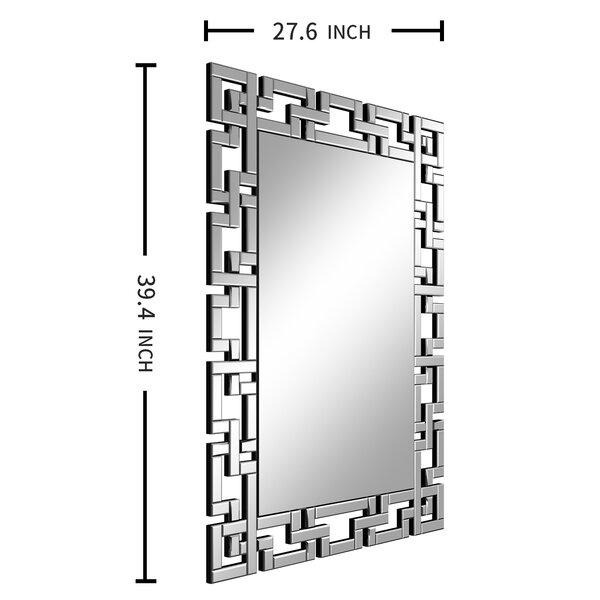 Mcmahan Beveled Accent Mirror