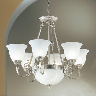 Classic Lighting Yorkshire II 8-Light Shaded Chandelier