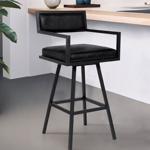 Latrobe 26 Swivel Bar Stool by Wrought Studio