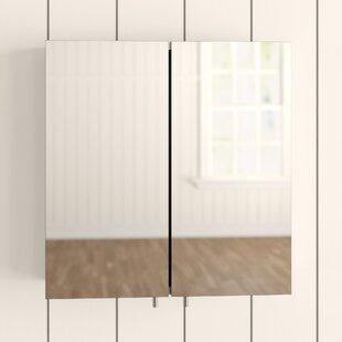 Avon 43cm X 44cm Surface Mount Mirror Cabinet By Croydex