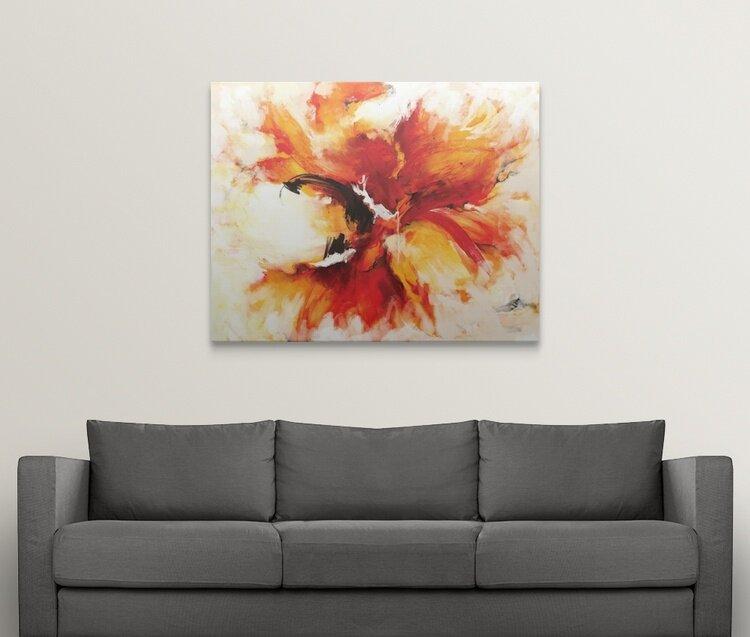 Great Big Canvas The Phoenix Painting Print Wayfair
