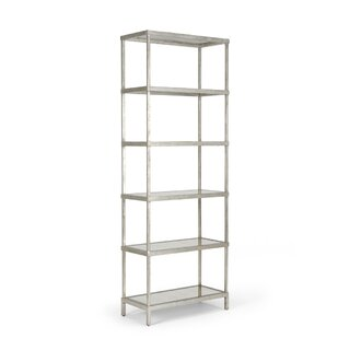 "Cliffland 82"" Etagere Bookcase by Rosecliff Heights SKU:AB328797 Reviews"